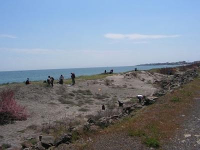 Половин тон боклук от километър плажна ивица  - 3