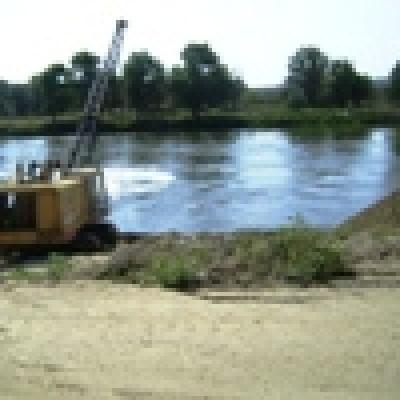 Къде кълве  /01-07 май 2010/ - Пресевни по река Тунджа - бабушка