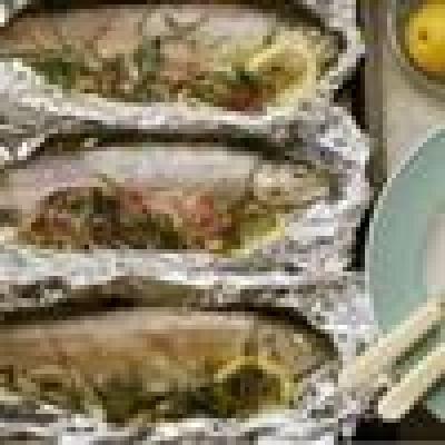 Рибни идейки... - Задушена риба с  ядки