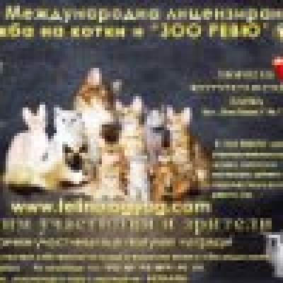 Международна лицензирана изложба на котки и Зоо ревю