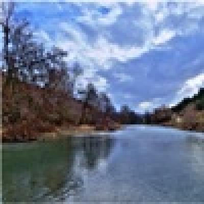 Река Тополница - Черна мряна