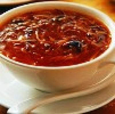 Пикантна рибена супа