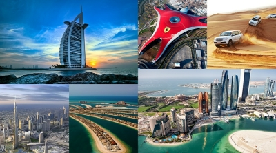Абу Даби и Дубай есен-зима 2018