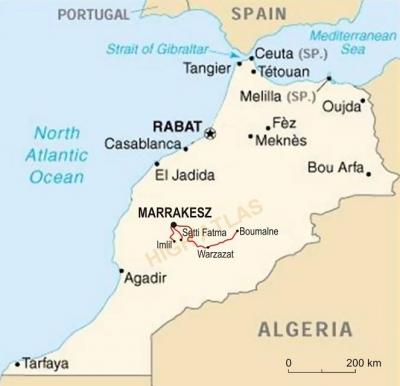 Morocco Round Trip