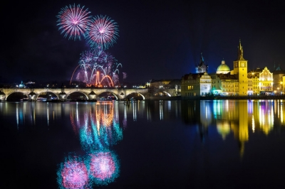 Prague New Year 2018