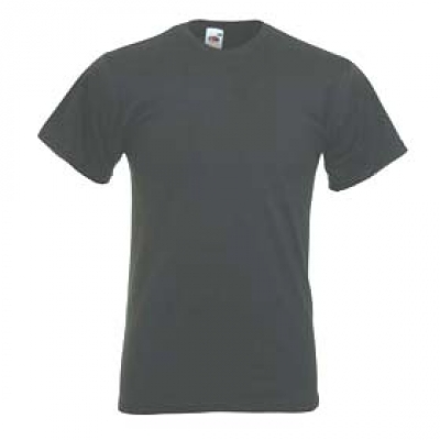 Тениски Fruit of the Loom - 160гр текстил - V - neck - Цвят въглен V-neck тениска Fruit of the Loom