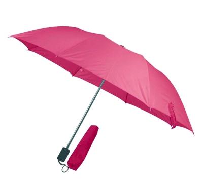 Чадър червен сгъваем с калъф
