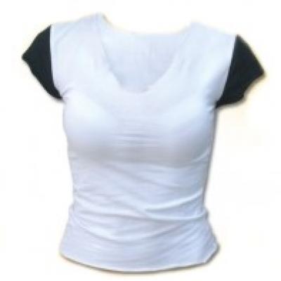 Дамска тениска ПИКО памук с ликра