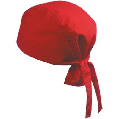 Шапка Бандана N164 червена