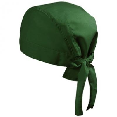 Шапка Бандана N164 петролено зелена