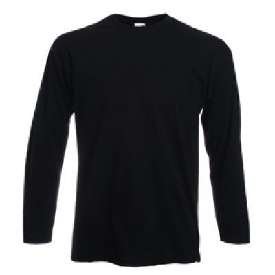 Тениска с дълъг ръкав Valueweight Long Sleeve - Тениска с дълъг ръкав - черна