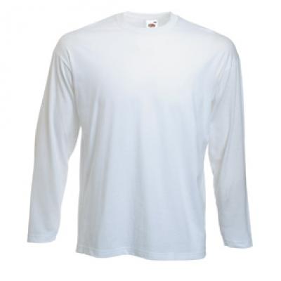 Тениска с дълъг ръкав Valueweight Long Sleeve - Тениска с дълъг ръкав - бяла