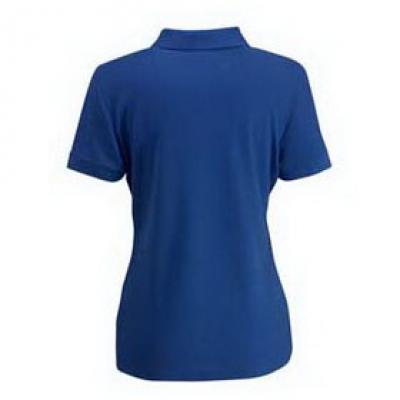 Дамски тип Лакоста Fruit of the Loom - 180гр  - Кралско синя тениска тип Лакоста на Fruit of the Loom - 180гр