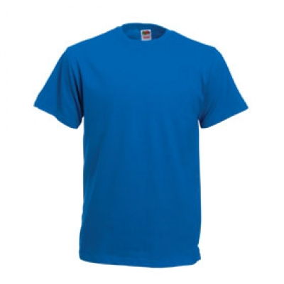 Тениски Fruit of the Loom - 195гр текстил - Кралско синя тениска Fruit of the Loom