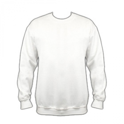 Ватена блуза -  бяла