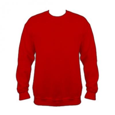 Ватена блуза - червен