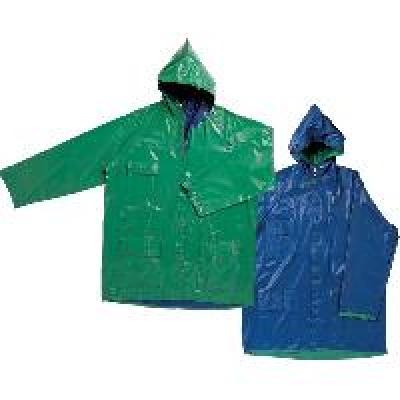 Дъждобрани двулицеви - Зелено-син, двулицев дъждобран