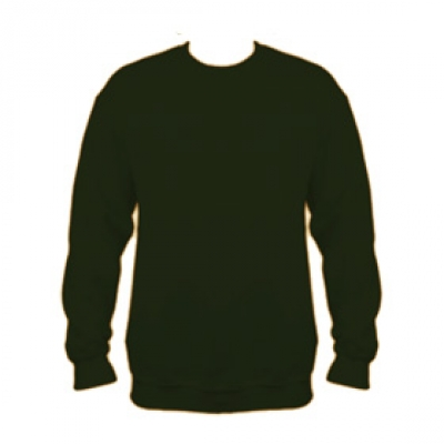Ватена блуза - маслинено зелена