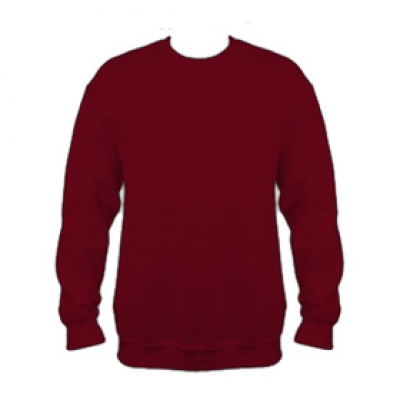 Ватена блуза - бургундско червена