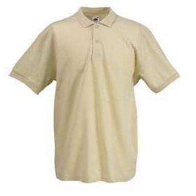 - Капучино мъжка тениска тип Лакоста Fruit of the Loom