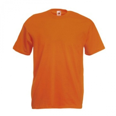 Тенски Fruit of the loom - Оранжева тениска Fruit of the Loom