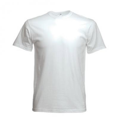 Тенски Fruit of the loom - Бяла тениска Fruit of the Loom