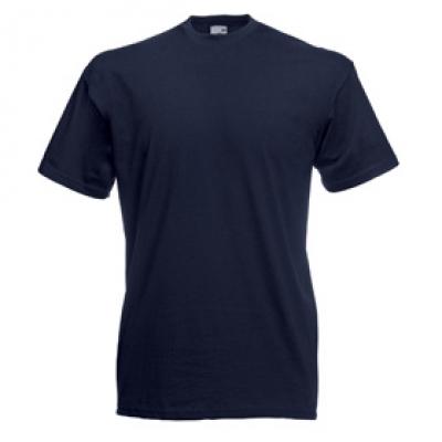 Тениски Fruit of the Loom - 165гр текстил - Мастилено синя тениска Fruit of the Loom