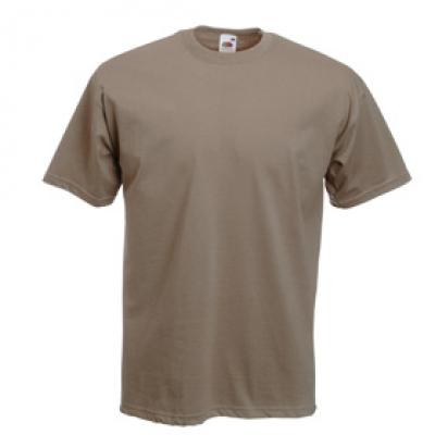 Тениски Fruit of the Loom - 165гр текстил - Цвят КАКИ тениска Fruit of the Loom