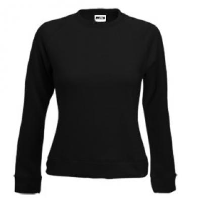 Блуза дамска с дълъг ръкав - черна