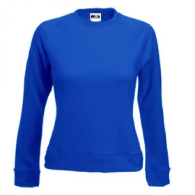 Блуза дамска с дълъг ръкав - синя