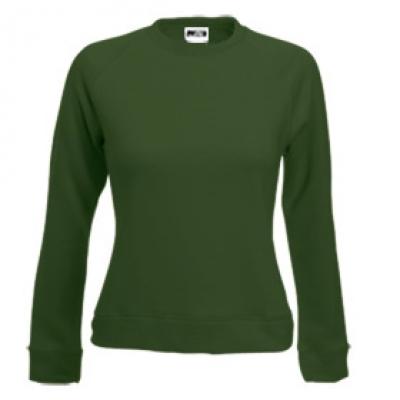 Блуза дамска с дълъг ръкав - зелена