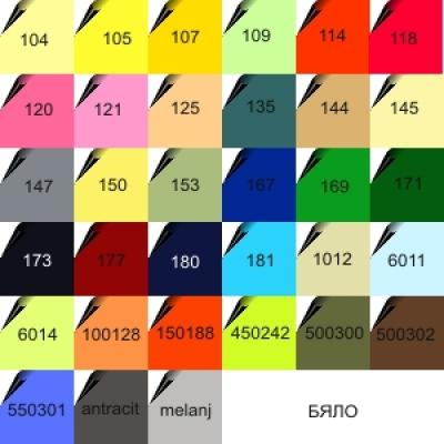 Цветове тениски - производство България -