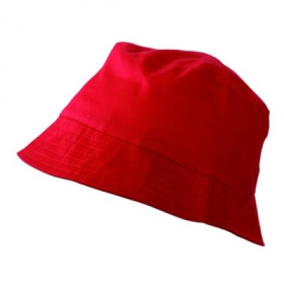 Шапка Идиотка N157 червена