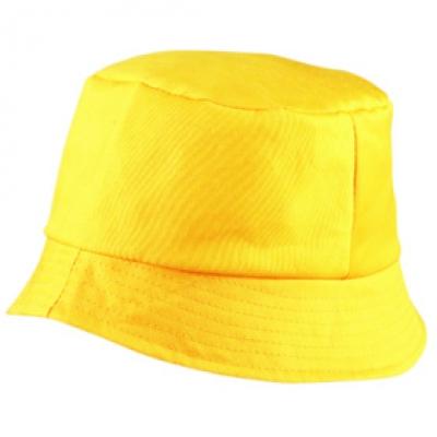 Шапка Идиотка N157 жълта