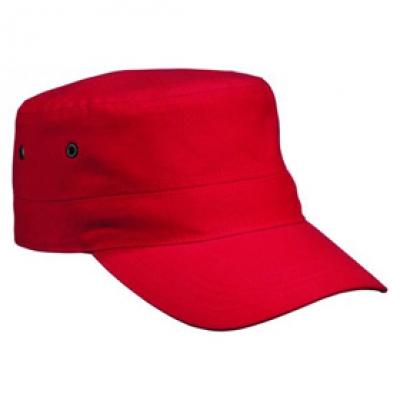 Шапка Милитъри N158 червена