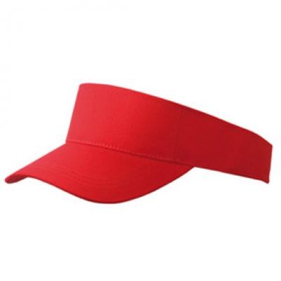 Козирка Сингъл N162 червена