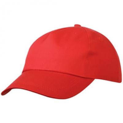 Шапка Сингъл N163 червена