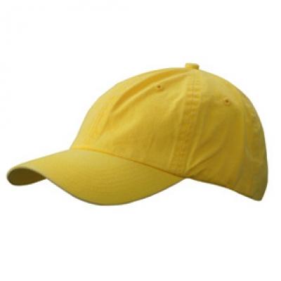 Шапка Избелена N165 жълта