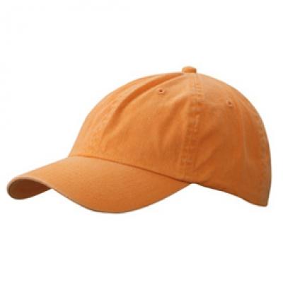 Шапка Избелена N165 оранжева