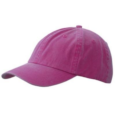 Шапка Избелена N165 пурпурна
