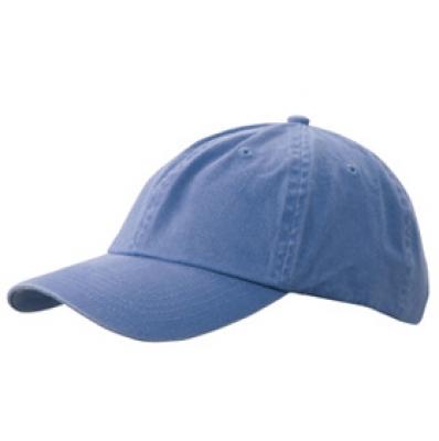 Шапка Избелена N165 стоманено синя
