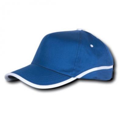 Шапки тип Найки N77 кралско синьо и бяло