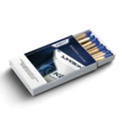 Кибритена кутийка 5521- Размери 54x35x8 мм-Клечки 18-20