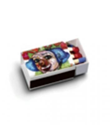 Кибритена кутийка 5555- Размери 30х18х12мм-Клечки 8-10