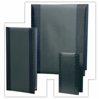 МЕНЮ - СТИЛ - Кожена меню- папка СТИЛ в цвят черен