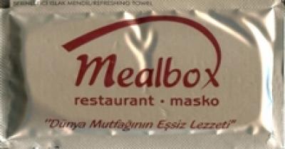 Мокри кърпички с фирмено лого