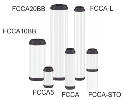 От гранулиран битумен активен въглен тип FCCA