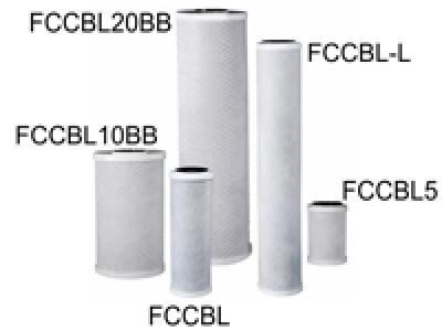 От пресован активен въглен тип FCCBL