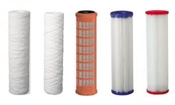 Филтърни елементи за механично пречистване