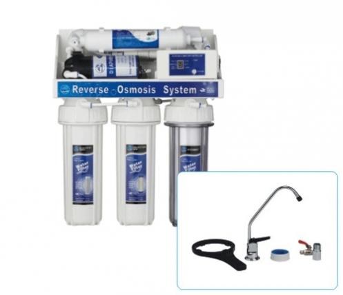 Система за обратна озмоза с контролер и помпа FRO5-CP